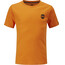 Moon Climbing Kids Crag Logo Tee Russet Orange